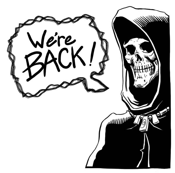 AND WE'RE BACK!